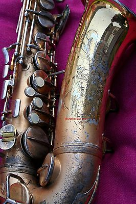 "GOLD 1932 Conn 6M ""transitional 6M #251k"" alto sax -WORLDWIDESAX"