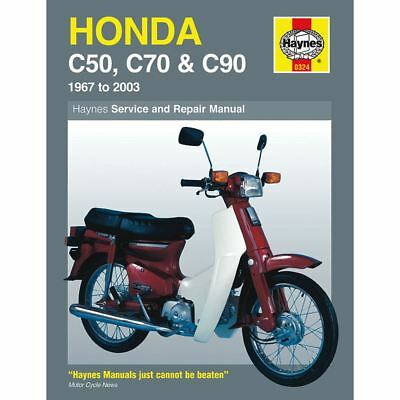 Manual Haynes for 1999 Honda C 90 T Cub (85cc)