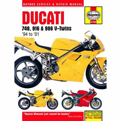 Manual Haynes for 1994 Ducati 916 Biposto