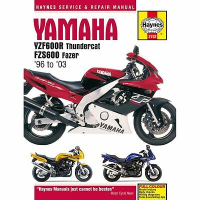Manual Haynes for 1998 Yamaha FZS 600 Fazer (5DM1)