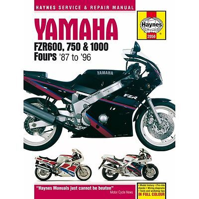 Manual Haynes for 1995 Yamaha FZR 600 R (4JH4) (UK Model)