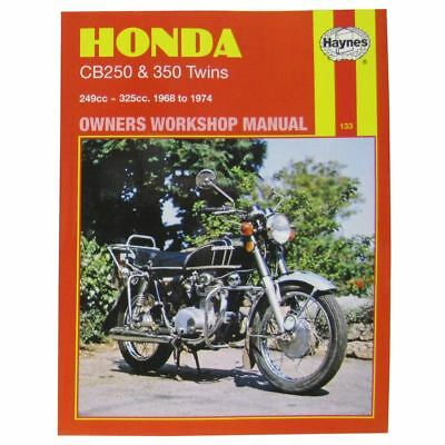 Manual Haynes for 1973 Honda CB 350 K4