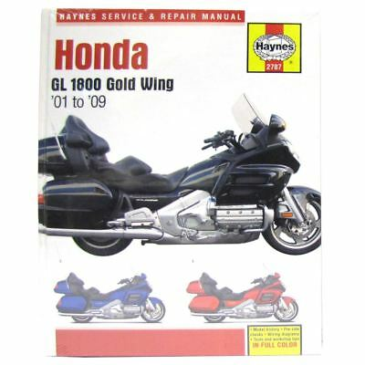 Manual Haynes for 2009 Honda GL 1800 -9 Gold Wing