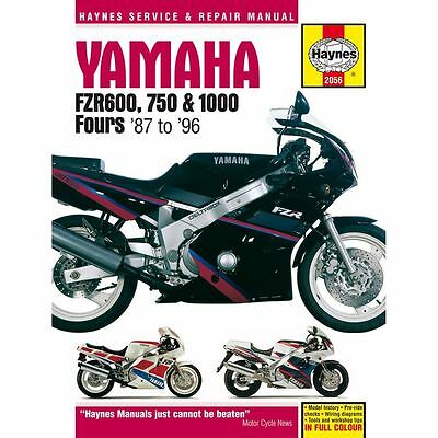 Manual Haynes for 1994 Yamaha FZR 600 R (4JH1) (UK Model)