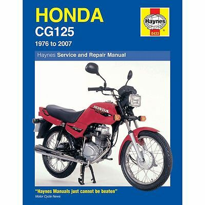 Manual Haynes for 2002 Honda CG 125 M1 (E/Start)