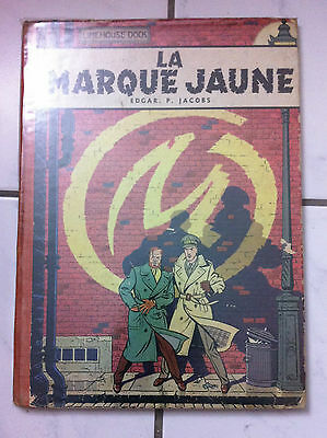 "Eof Blake & Mortimer T5 ""la Marque Jaune""- Jacobs - Dargaud 1956 - Point Tintin"
