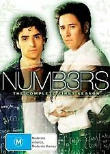Numbers The Complete First Season 4Dvd Boxset Brand New Sealed 4Discs