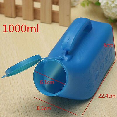 1000ml Portable Male Bed Pee Urinal Bottle Boats Journeys Travel Camping Toilet