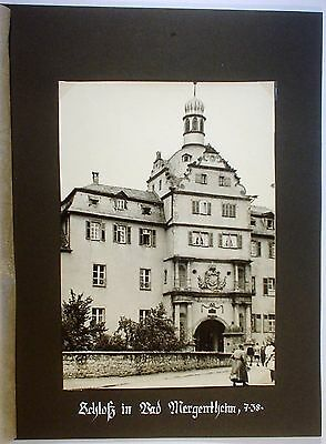 Privatfoto - Bad Mergentheim - Schloß - 1938 - (13