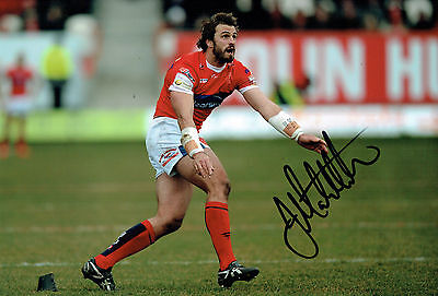 Josh MANTELLATO Australian Rugby League Signed Autograph 12x8 Photo AFTAL COA