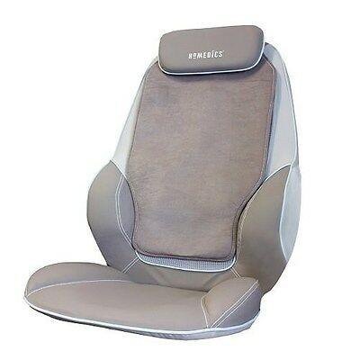 HoMedics CBS-1000 Max Shiatsu Massaging Chair Back Shoulder Massager Heated NEW