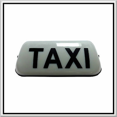 Private Hire Pre booked only Magnet Taxi Sign Car Cab Sign Door Rank 300x90mm