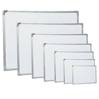 Magnetic Dry Wipe Whiteboard White Notice Writting Board Office Room School Home
