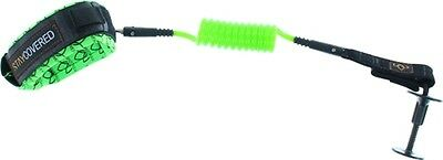 Stay Covered Bicep Coiled Body Board Leash Green