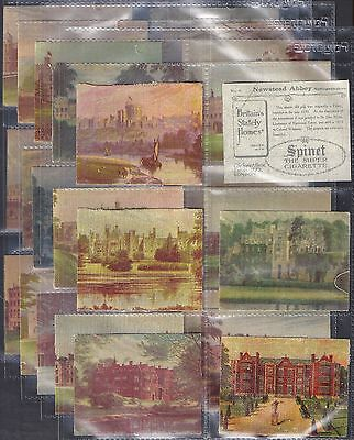 Hill (Rj)-Large Card Set- Britains Stately Homes (Silk) - Exc