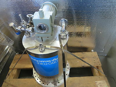 CTI-Cryogenics Cryo-Torr 10 Cryopump Part# 8018054G001