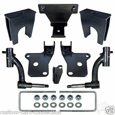 """EZGO RXV RHOX 6"""" Drop Spindle Lift Kit For Gas Golf Cart Free Shipping"""