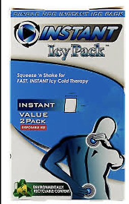 GENUINE BULK BUY +++ Instant Icy Packs+Bonus Support Wraps 8 Packs of 2 FastPost