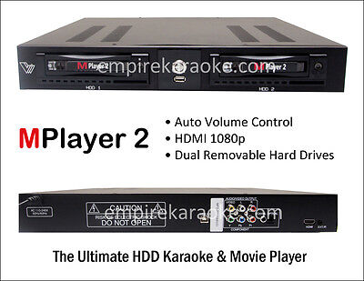 KARAOKE Mplayer 2 PRO with AUTO VOLUME CONTROL + FREE SHIPPING