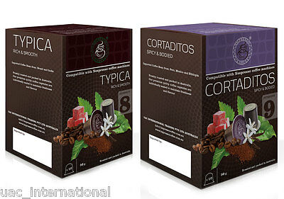 30 Nespresso Compatible Coffee Capsules - 15 x 2 blend Impresso Coffee Pods