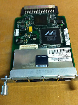 Cisco HWIC-4ESW  4-Port FastEthernet Interface Card  GST & DELIVERY INC