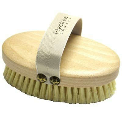 Hydrea Professional Dry Skin Body Brush with Cactus Firm/Extra Firm Bristles