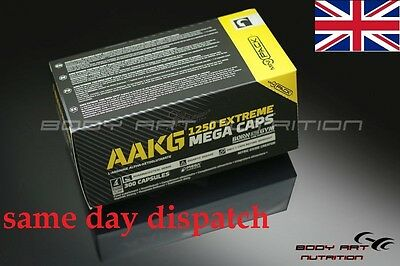 ## Olimp AAKG Extreme 1250 mg Mega Caps Nitric Oxide Booster FREE SAMPLE ##