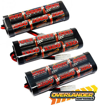 Overlander 7.2v NiMH Battery Pack for RC Car Tamiya Plug HIGH QUALITY UK SELLER