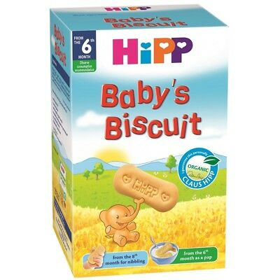 HIPP Organic Baby Biscuits Snacks 30 Cookies From 8 Months 150g 5.3oz