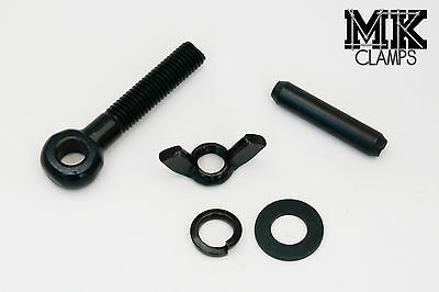 4 x Replacement bolt set for Heavy Duty Truss clamps Black
