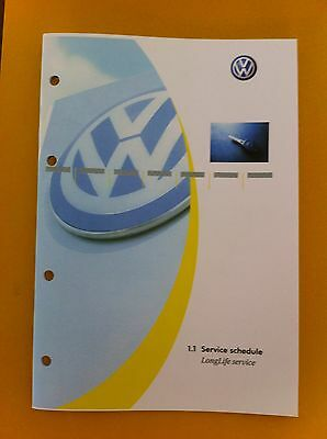 Vw Volkswagen Service Book All Models Petrol And Diesel Passat,golf New All