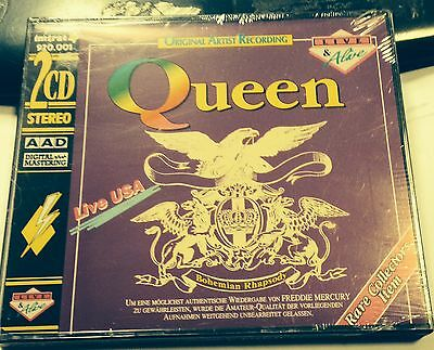 QUEEN - LIVE IN USA 1982 - 2 CD LIVE in USA 1992 - NO CDr RARO SEALED MINT