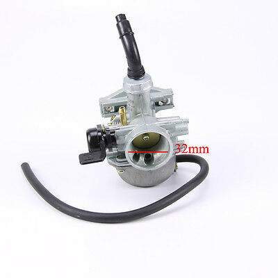 PZ 19mm Left Lever Choke Carburetor Carburettor 50-110cc Quad Pit Dirt Bike TA