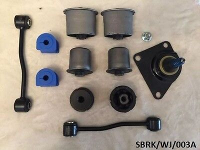Rear Suspension Bush Reapir KIT 11PCS Jeep Grand Cherokee WJ 1999-2004