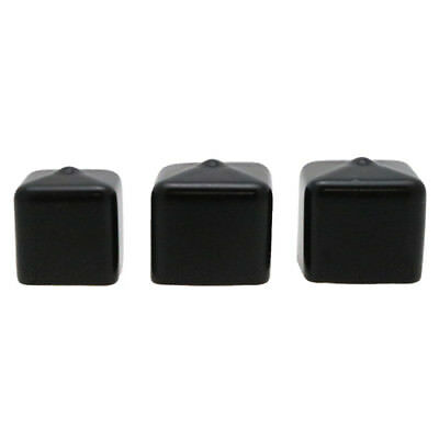 10 x 25mm x 25mm Square PVC Flexi Caps, Finishing, End Caps, Capping.