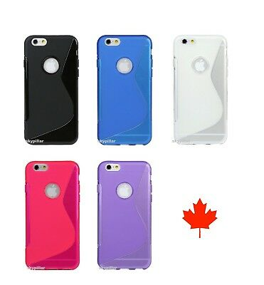 S-Line Wave Anti-Scratch TPU Silicone Case Cover Apple iPhone Phone ipod Touch