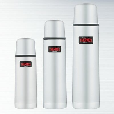 Thermos Light and Compact Stainless Steel Vacuum Flask