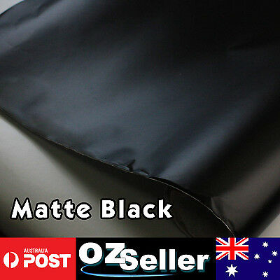 1.51M x 2M Air Bubble Free OEM Matte Black Sheet Vinyl Wrap Car Hood Bonnet Roof