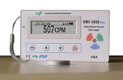 GQ GMC-300E-Plus Digital Geiger Counter Nulcear Radiation Detector Monitor Meter