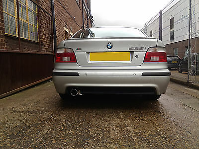 BMW E39 Custom Built Stainless Steel Exhaust Back Box