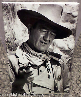"John Wayne Image 2 Vintage Photo Movie 2"" x 3"" Refrigerator Locker MAGNET"