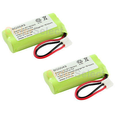 2x Rechargeable Phone Battery for GE 2-8871 5-2734 5-2814 5-2826 5-2840 H-5250