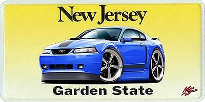 2003-04 Ford Mustang Mach 1 Muscle Car License Plate NEW