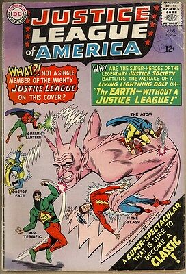 Justice League Of America #37 - VG-