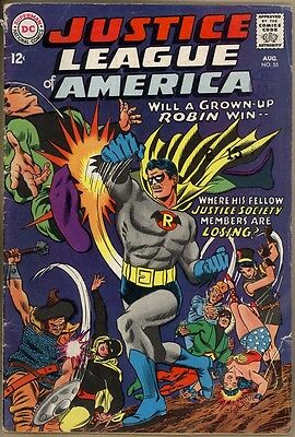 Justice League Of America #55 - G/VG