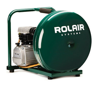 Rolair 2HP, 4.5 Gal Single Stage Compressor D2002HPV5 New