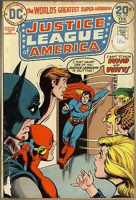 Justice League Of America #109 - G