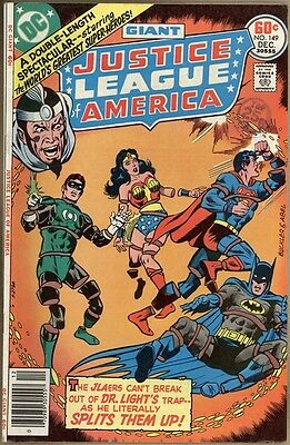 Justice League Of America #149 - FN-