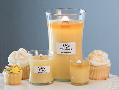 WoodWick MINI BAKERY CUPCAKE High Quality Soy Based Candle