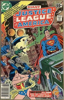 Justice League Of America #155 - FN-